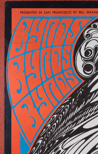 Historical Design I Wes Wilson The Byrds Moby Grape