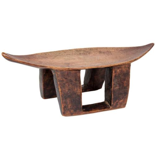 Somalia African Tribal Wood Headrest