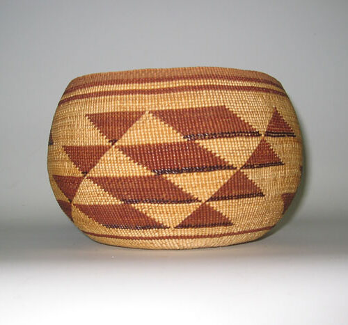 Inidan Baskets Striped Pattern