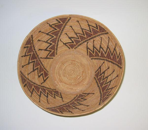 Historical Design I Yokut Basket Fresno Ca Coiled