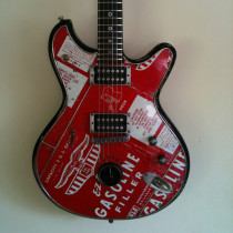Stephen McSwain Saphire Guitar