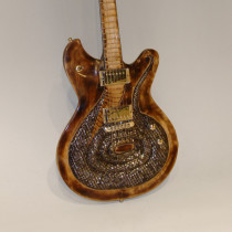 Stephen McSwain Snake Guitar