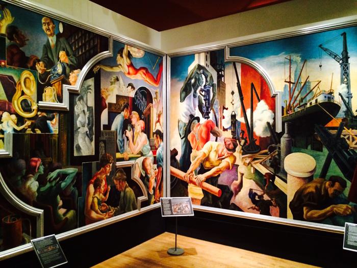 Historical design thomas hart benton 39 s america today for America today mural