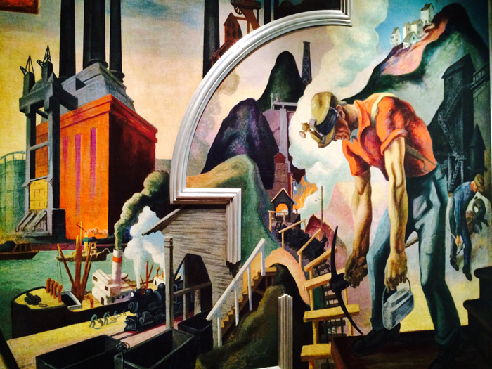 Historical design thomas hart benton 39 s america today for America today mural