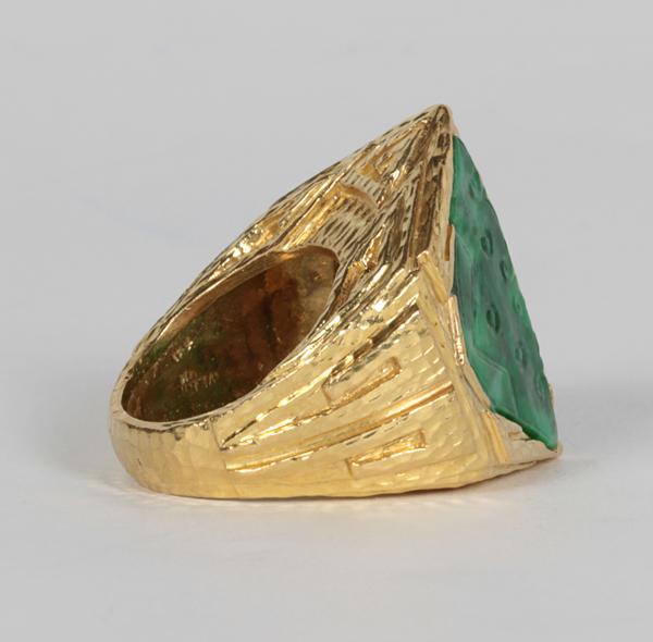 Historical Design I David Webb Quot Aztec Quot Ring Pre Columbian